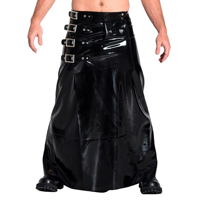 Mister B Rubber Buckle Skirt Lång