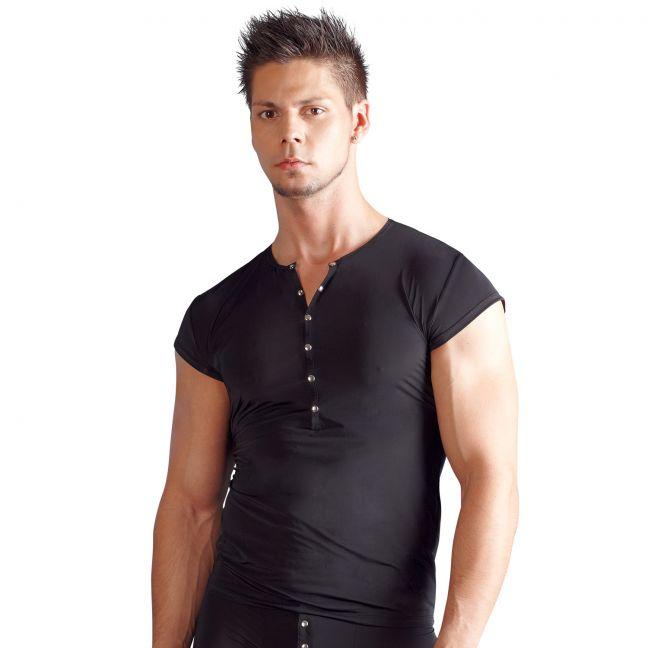 Svenjoyment T-Shirt med Knappar