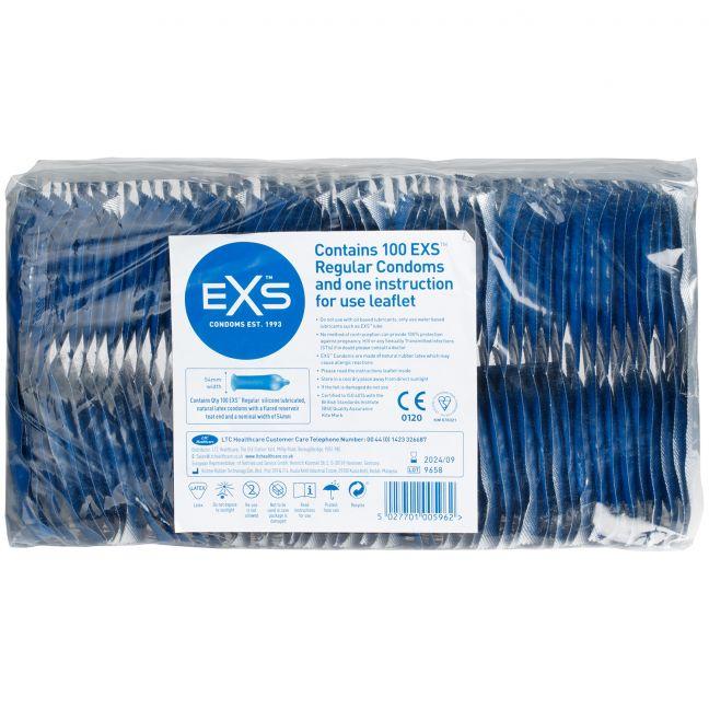 EXS Regular Kondomer 100 st