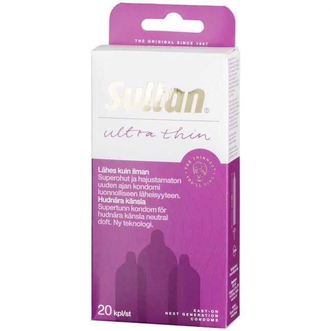 Sultan Supertunna Kondomer 20 st