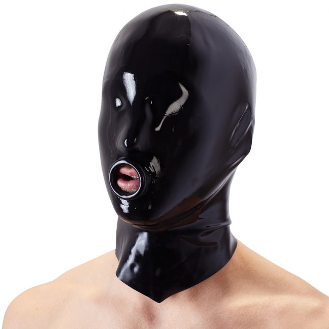 Late X Latexmask med O-Ring