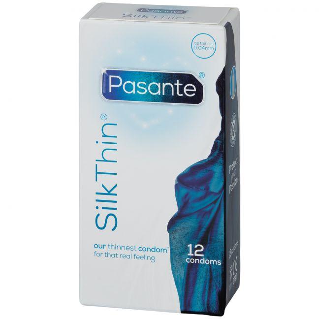 Pasante Silk Thin Kondomer 12 st
