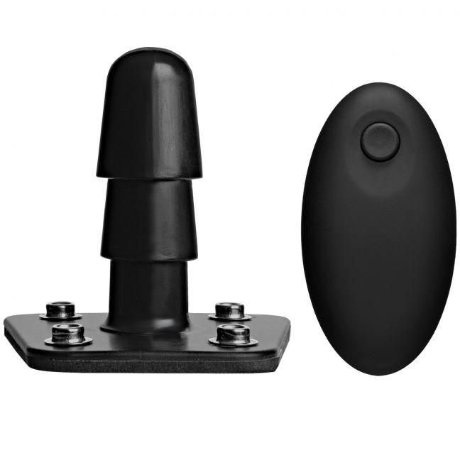 Vac-U-Lock Vibrerande Plug med Trådlös Fjärrkontroll