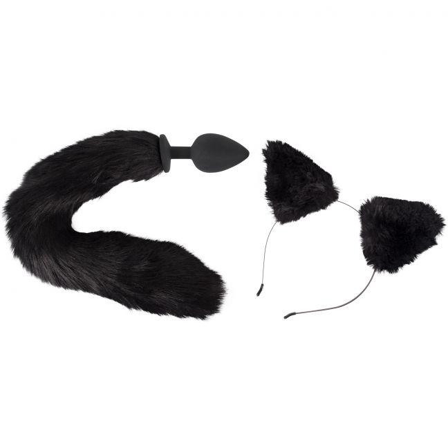 Bad Kitty Katt Analplugg och Öron