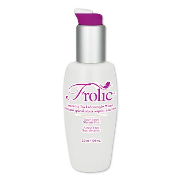 Pink Frolic Glidmedel för Sexleksaker 100 ml.