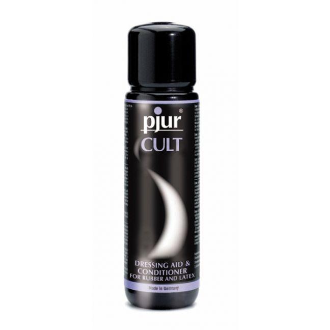 Pjur Cult Latex Dressing Aid och Conditioner 100 ml