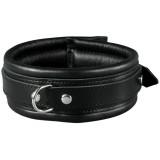 SToys Svart Läderhalsband