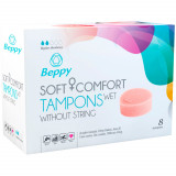 Beppy Wet Comfort Tampons 8-pack
