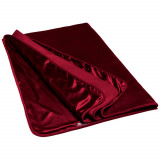 Liberator Fascinator Throw Merlot Lyxlakan
