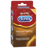 Durex Natural Feeling Latexfria Kondomer 8 st