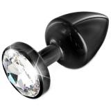 Diogol Anni Black T3 Cristal Analplugg 35 mm