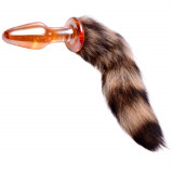 Tailz Fox Tail Glas Analplugg