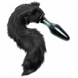 Tailz Midnight Fox Tail Glas Analplugg