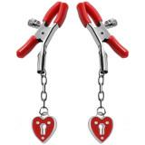 Master Series Captive Heart Bröstklämmor