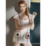 Black Level Sjuksköterskeuniform i Lack