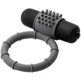 Baseks Silikon Penisring med Vibrator