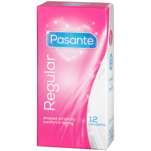 Pasante Regular kondomer 12-pack