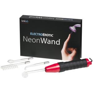 Kinklab Neon Wand Electro Sex Violet Wand Kit