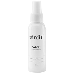 Sinful Clean Sexleksaks Rengöring