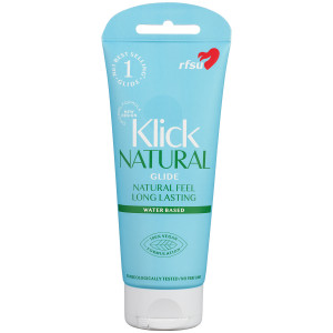 RFSU Klick Natural Glide Vattenbaserat Glidmedel 100 ml