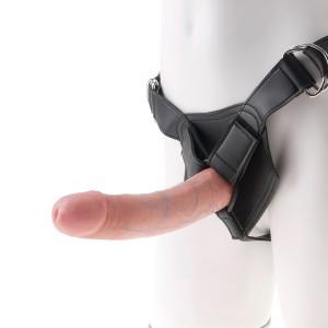 King Cock Harness med Dildo 20 cm