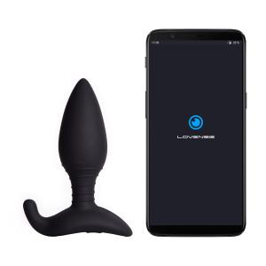 Lovense Hush Appstyrd Analplugg Medium