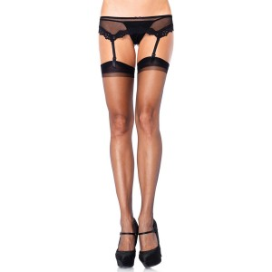 Leg Avenue Ultra Sheer Backseam Strumpor