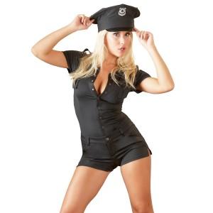 Cottelli Jumpsuit Polisdräkt