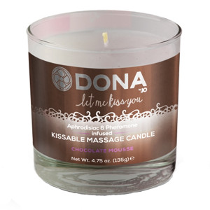 Dona Kissable Massageljus med Smak 135 g