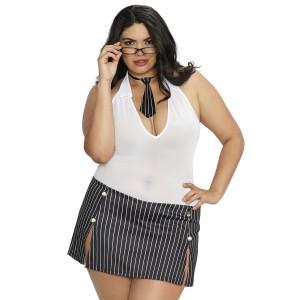 Dreamgirl Sekreterardräkt Plus Size