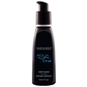 Wicked Aqua Chill Vattenbaserat Glidmedel 60 ml