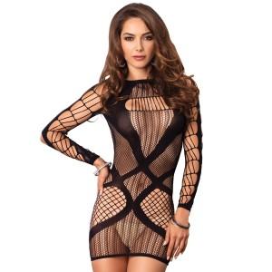 Leg Avenue Fishnet Miniklänning