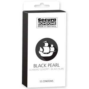 Secura Black Pearl Kondomer 12 st