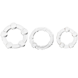 Baseks Triple Fun Penisring Set