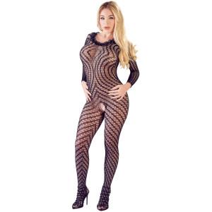 Mandy Mystery Catsuit i Spets