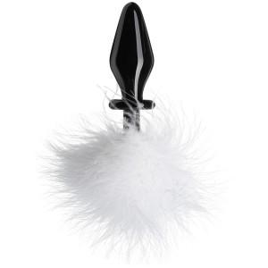 Taliz Fluffer Bunny Analplug av Glas