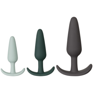 Amaysin Triple Butt Plug Set