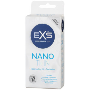 EXS Nano Thin Kondomer 12 st