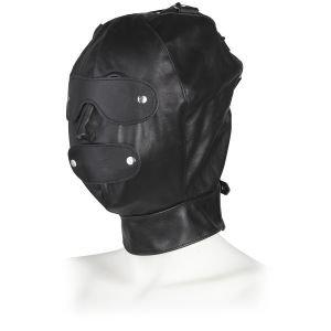 Rimba Justerbar Läder Mask
