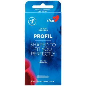 RFSU Profil Kondomer 10 stk.