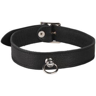 Rimba Läder Halsband med O-Ring