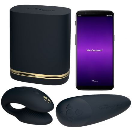 Womanizer och We-Vibe Golden Moments Collection Set