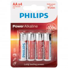Philips LR06 AA Alkaline Batterier 4 st  1