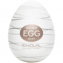 TENGA Egg Silky Onani Handjob för Män produkt i hand 1