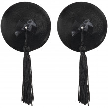Bijoux Burlesque Pasties Läder Bröstsmycken Produktbild 1