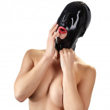 Late X Black Out Latexmask  1