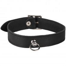 Rimba Läder Halsband med O-Ring produktbild 1