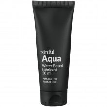 Sinful Aqua Vattenbaserat Glidmedel 50 ml produktbild 1