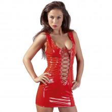 Black Level Miniklänning i Lack Röd  1