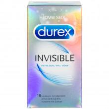 Durex Invisible Extra Tunna Kondomer 10 st  1